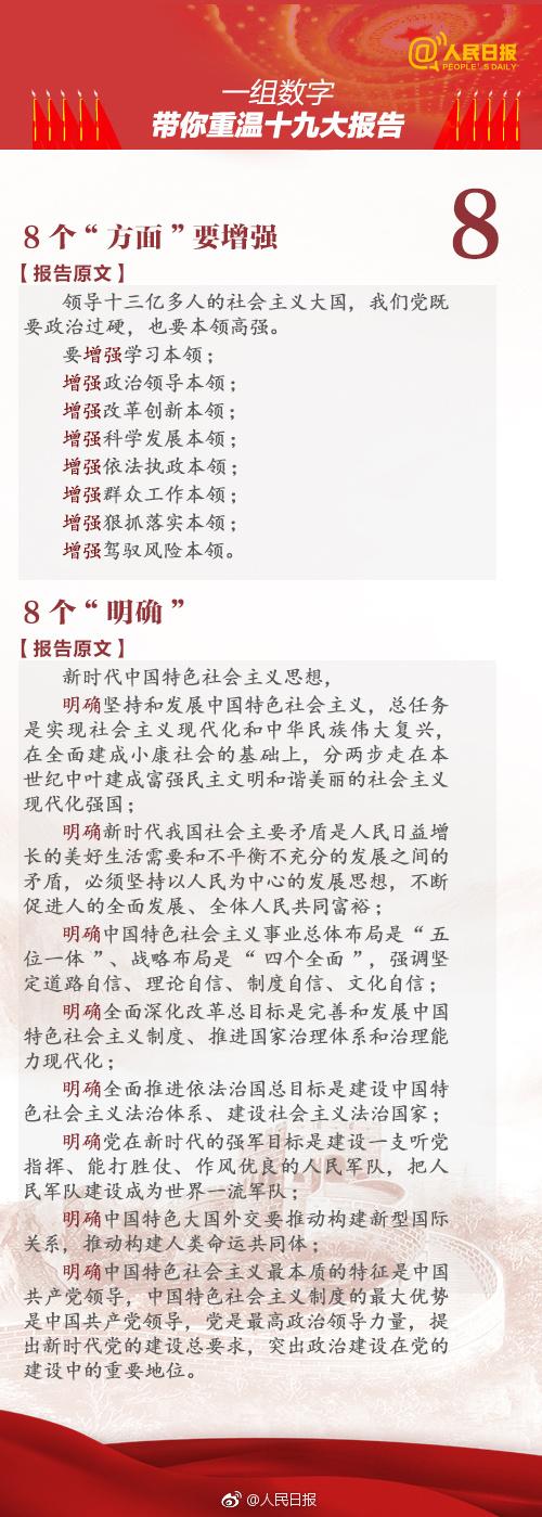 2019年浙江公务员考试时政:一组数字,带你重温十九大报告