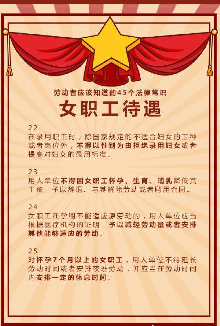 常识积存:关于劳动者的45个法律常识