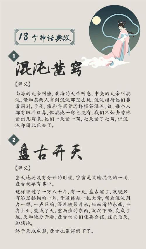 常识积累:18个神话典故