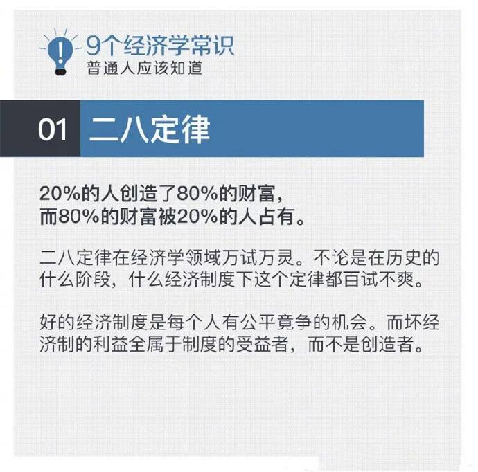 2021年国家亚博体育网页登录考试常识积累:9个必知的经济学常识!